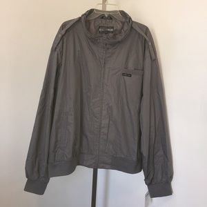 Members Only Classic Racer Jacket Size 4X.